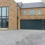 Hormann glazed L Rib with matching front door