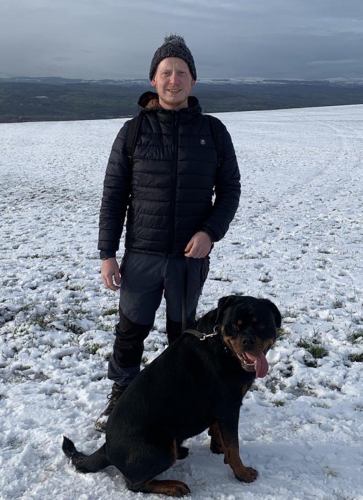 John and his dog