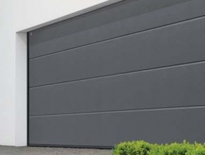 Sectional garage doors Including insulated