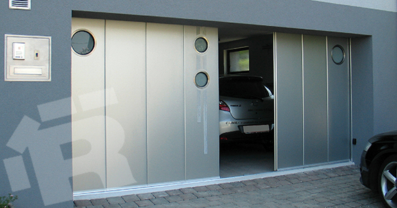 New From Ryterna The Side Sliding Sectional Garage Doors