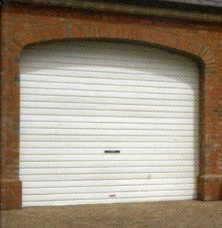 Picture of Cardale Steel-line roller garage door in white