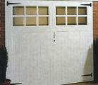 Jeldwen glazed softwood side hinged garage door