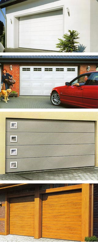 Examples of Carteck Garage doors