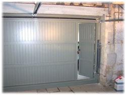 Double Garage Doors Up Amp Over Sectional Wood Roller
