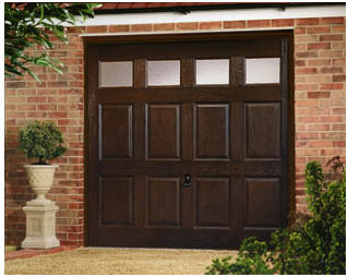 Garador Kenmore GRP  garage door with windows