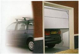 Garador single sectional garage door