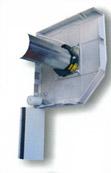 Mechanism on the Aluroll Classic insulated roller garage door