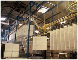 Picture showing Garador production line