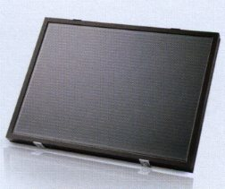 Picture of solar module for recharging Hormann Promatic Akku battery pack