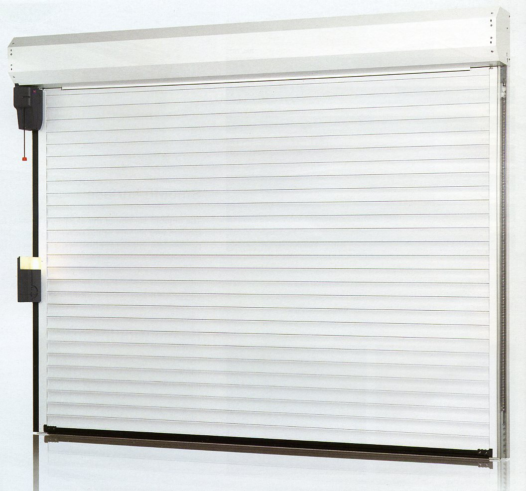 of inside view of hormann rollmatic insulated roll up garage door snapshot of roll up