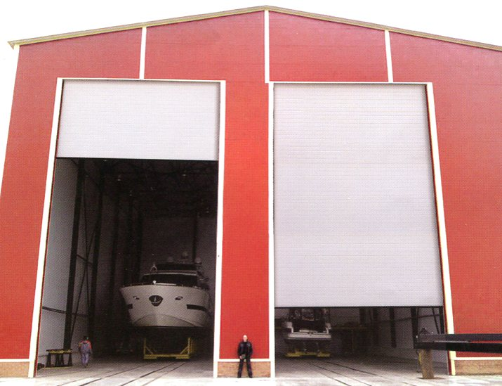 Picture of Ryterna industrial sectional doors
