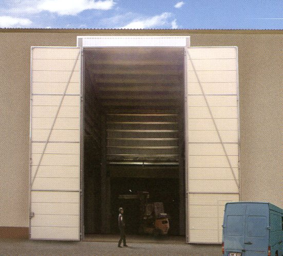 Picture of Ryterna Side-Hinged Industrial Hangar doors