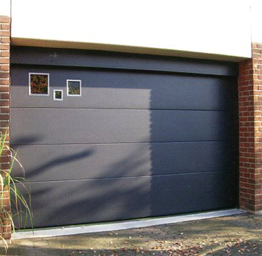 Picture of Ryterna Flush sectional garage door with design elements