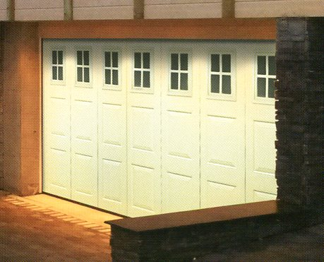 Picture of Ryterna Georgian side sliding garage door