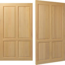 Woodrite Welford side hung door in solid idigbo