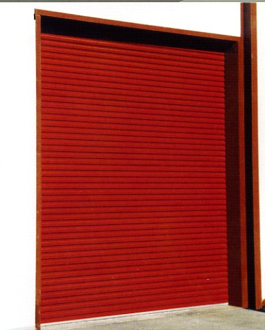 Picture of Gliderol Light Industrial roller door in Red