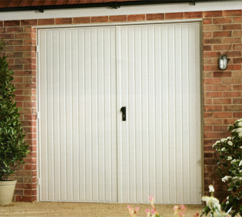 Side Hung Garage Doors, Timber, Steel, Insulated, GRP