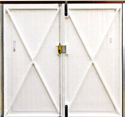 Side Hung Garage Doors Timber Steel Insulated Grp