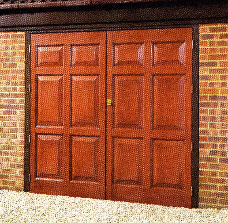 Side hung garage doors timber steel insulated grp picture of wessex rushmoor grp side hinged garage doors rubansaba