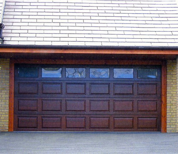 Wood Garage Doors Side Hinged Sectional Up Over
