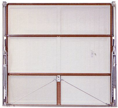 Picture showing inside view of Wessex Valiant garage door