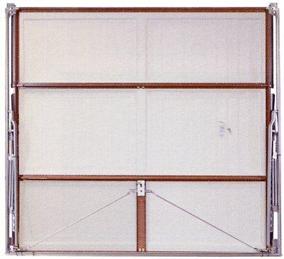 Picture showing inside view of Wessex Valiant garage door