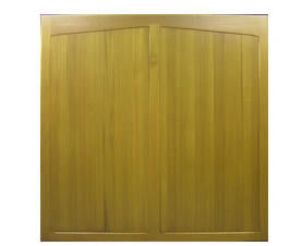 Picture of Cedar Door Wessington Side-hinged garage doors