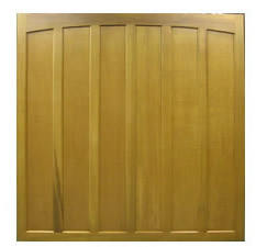Picture of Cedar Door Retford up & over garage door from their Sherwood range