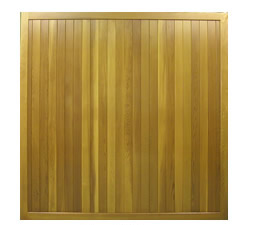 Picture of Cedar Door Newark up and over garage door from their Sherwood range