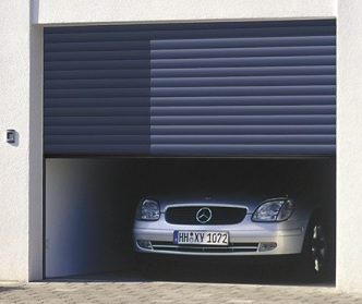 Hormann Rollmatic Roller Door front view.