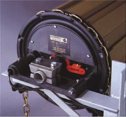 Gliderol Glidermatic GDR industrial roller motor.