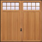 Garador Ashton Solid cedar door