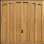 Garador Shaftesbury cedar door