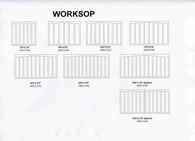 Cedar Door Worksop design options