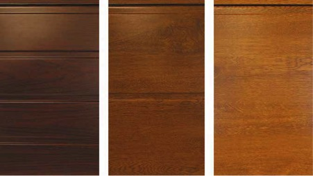 Golden Oak, Rosewood and Dark Oak colours