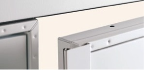 Centre stile increases security and draught proofing.