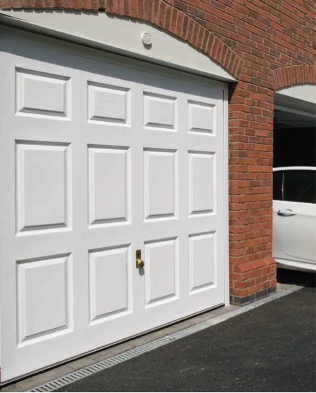 Hormann 2041 Coniston, GRP door design, White supersmooth