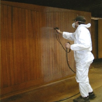 Water-based spray applied finishes available at little extra cost