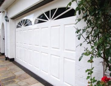 Wessex Wimborne Gloss White double door