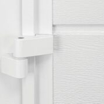 Depending on door size, 2 or 3 colour matched aluminium hinges are fitted per door leaf. These hinges are adjustable, enabling easy on-site fine adjustment of the doors.