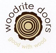 Woodrite logo. Good with wood.