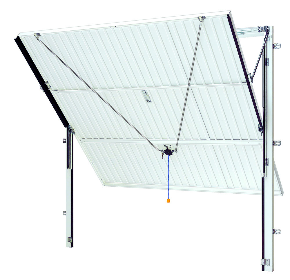 Canopy mechanism with steel frame