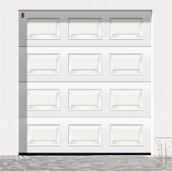 Carteck Georgian insulated sectional door
