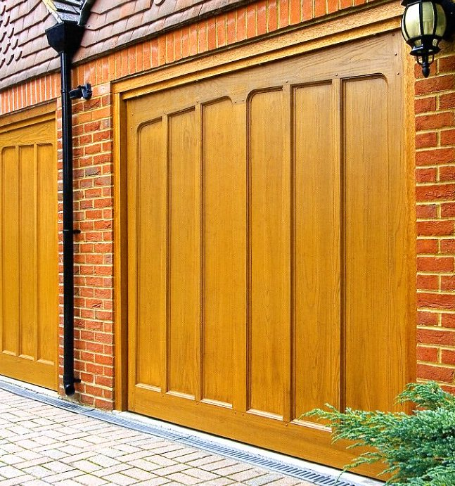 GRP up and over garage doors