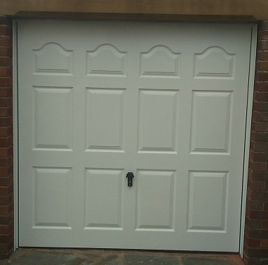 Picture of Wessex Emsworth GRP up & over garage door