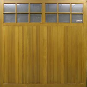 Picture of Cedar Dale glazed up and over garage door