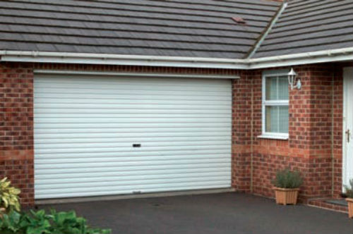 Glideroll steel non insulated roller door can be manual or automatic