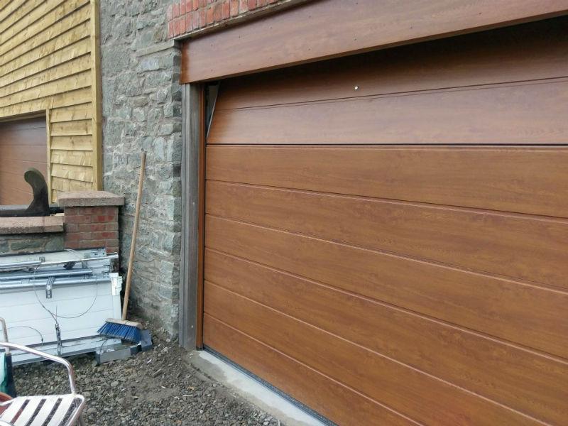 Garage Doors Welshpool Newtown Mid Wales Powys