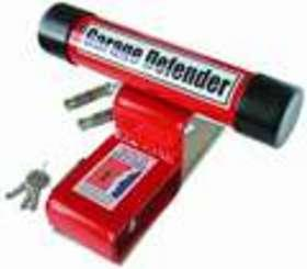 Garage Door Defender Red