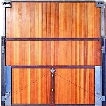 Rear of Panel-Built door on Masta-Gear